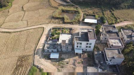 2021年广东省廉江市和寮镇那伦村4k航拍视频
