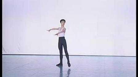 北舞附中古典舞舞蹈基础基本功示例课3年级第2学期2 把下训练