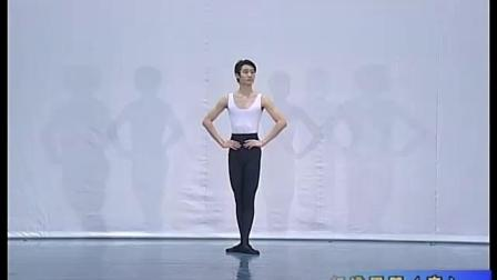 北舞附中古典舞舞蹈基础基本功示例课4年级第1学期2 把下训练