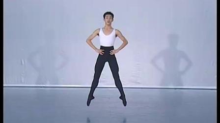 北舞附中古典舞舞蹈基础基本功示例课4年级第1学期3 跳的训练