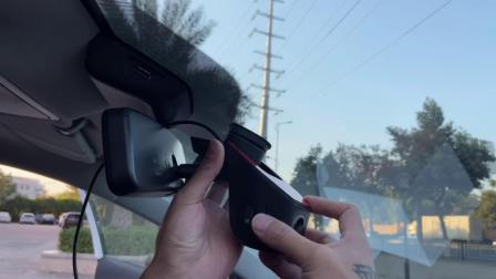 名爵MG5行车记录仪安装教程