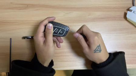 名爵MG5钥匙包安装教程