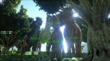 方舟:生存进化(ARK:Survival Evolved)克苏恩四大护法 流血破甲加击退!