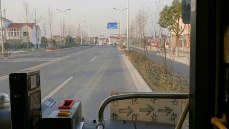 【锦山客运】朱泾2路公交车【长浜村方向】(WD9-6038)(秀州村-长浜村)