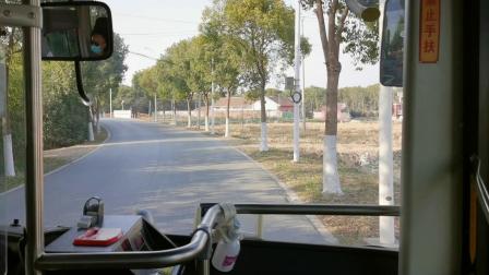 【金山巴士】金石线公交车(W2Y-0512)(石化汽车站-朱泾汽车站下客站)全程
