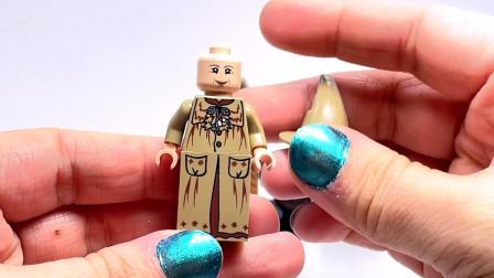 乐高 Professor Sprout Minifigure Comparison Harry Potter Collection LEGO积木砖家评测