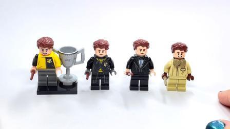 乐高 Cedric Diggory Minifigure Comparison Harry Potter Collection LEGO积木砖家评测