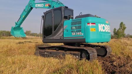 进口神钢sk140Lc-11挖掘机 (1080p).