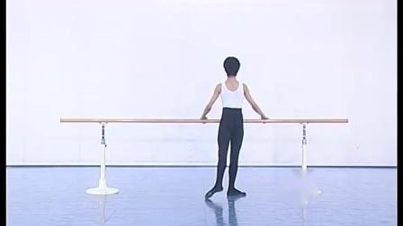 北舞附中古典舞舞蹈基础基本功示例课4年级第2学期1 把上训练