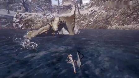 《怪物猎人:崛起》冰牙龙演示