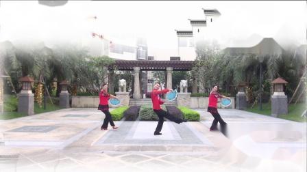 博白舞悦心情  你怎么说  编舞:张惠萍