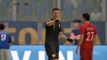 FIFA19 2021-01-17 20-34-20-513 被波兰搞成平局了!