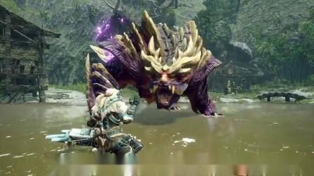 【游侠网】《怪物猎人:崛起》怨虎龙演示