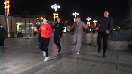 曳步舞《老七连》 2021-01-17
