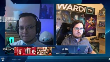 星际争霸2 1月17日Dreamhack2021LC 半决赛 Trap(P) vs Clem(T) 2021