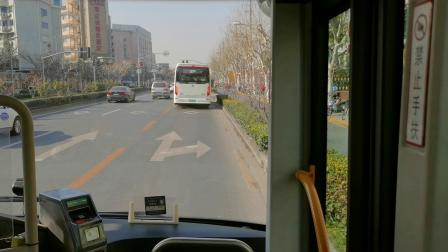 【巴士五公司】58路公交车(W1F-0130)(曲阜西路西藏北路-上海大学锦秋路)全程
