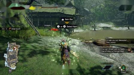 【3DM游戏网】模拟器运行《怪物猎人:崛起》试玩版