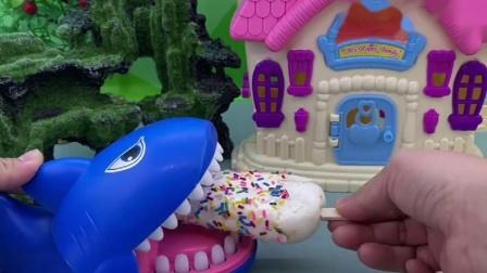 大鱼鱼吃雪糕了,可那是小猪的雪糕,他该吃什么