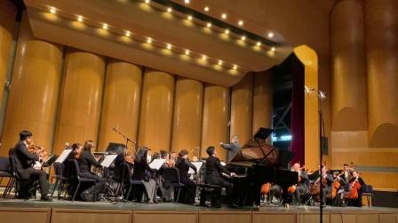 中央音乐学院钢琴系主任、博导韦丹文教授指挥、李易哲钢琴、厦门歌舞剧院交响乐团协奏《贝多芬第二钢琴协奏曲》