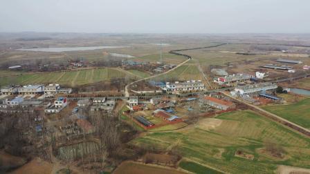 2021年1月16日无人机拍摄下洼、王厂、中郢、涧西