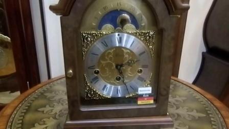 赫姆勒座钟 英式风格客厅钟表