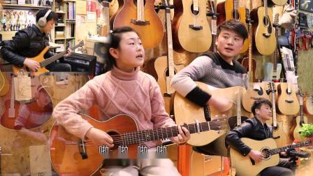 《风吹麦浪》吉他弹唱-指间音乐频道出品