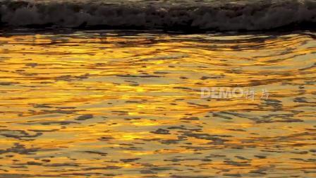 歌曲配乐 d189 2K高清画质唯美蓝天白云海洋海水海 动态视频 大屏素材