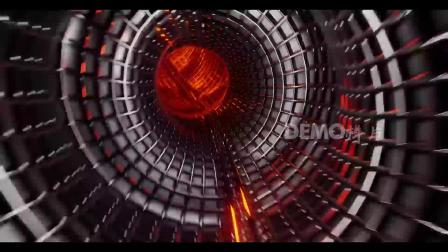 歌曲配乐 d190 2K画质超高清彩色霓虹灯管灯光闪耀灯光秀 动态视频 大屏素材