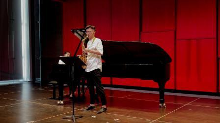 【萨克斯与钢琴】格里埃尔间奏曲—张记晨 Geliere Intermezzo