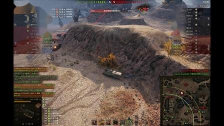 坦克世界 LYB福三炮干了全场居然都不亮