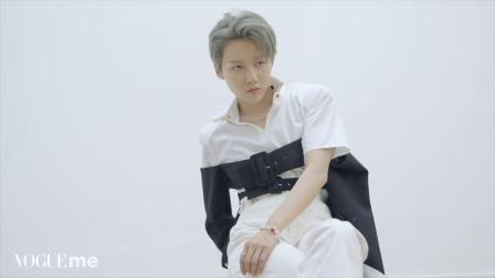 VogueMe2021开年刊   刘雨昕 封面花絮视频