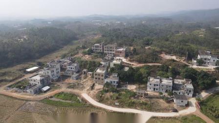 2021年1月广东省廉江市和寮镇那伦村4k航拍视频