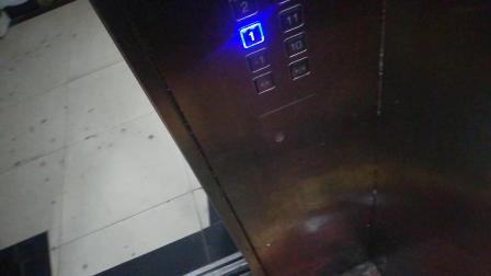某大厦老电梯杂牌改造,速度可以
