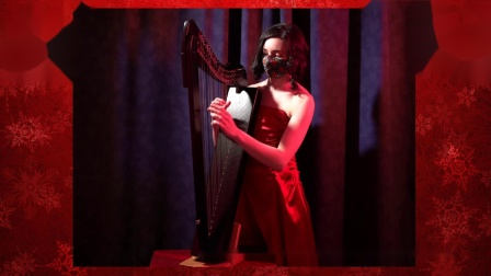Naomi SV(加拿大音乐爱好者:娜奥米)Harp Cover 竖琴演奏:《Where the Wild Roses Grow 野玫瑰长在何方》