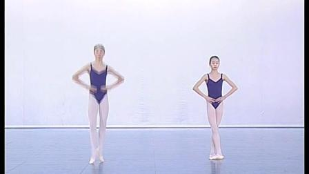 北舞附中古典舞蹈基础基本功示例课女班2年级第2学期3 把下训练