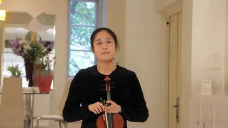 D音阶 双音 顿特随想曲p12  杨丹骊小提琴