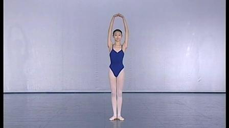 北舞附中古典舞蹈基础基本功示例课女班3年级第2学期1 头与躯干的训练