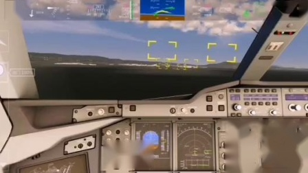 西门专辑#7 飞机的起降落2(两机场往返)(游戏名:模拟飞行2020)