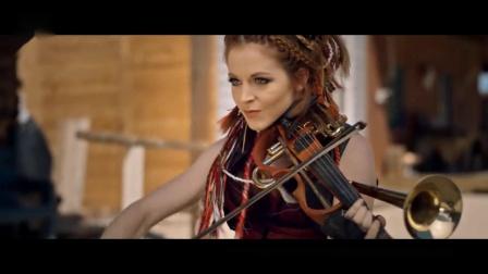 Lindsey Stirling琳赛·斯特林(美国小提琴家,词曲作者和舞蹈家)演绎现代小提琴:《Roundtable Rival 循环的挑战》