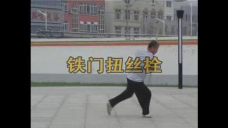 """姜维武术-鞭杆""""铁门扭丝栓""""赵双定演示"""