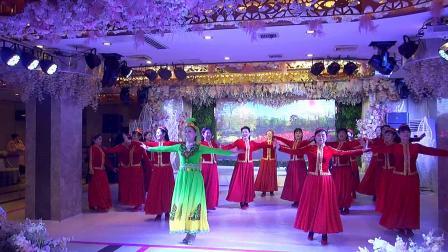 益阳市时尚运动健美协会美人窝艺术团2021迎新春文艺汇演节目新疆舞《情人》