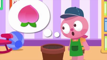 路西想吃桃子  她怎么办呢?迷你特工队游戏