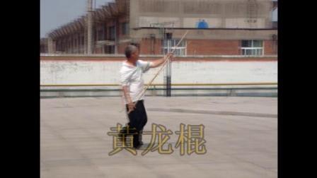 """姜维武术-棍术""""黄龙棍""""赵双定演示"""