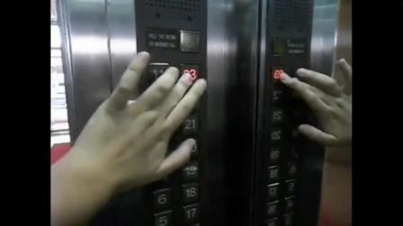 香港某地的三菱MPVF电梯