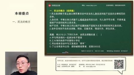 从民法典入手学习法硕民法【民法总编】