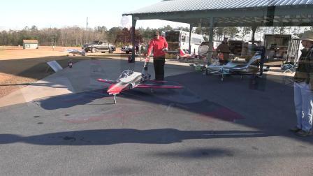 Top RC 涡喷运动机 Voyager 搭配 K210 第二次飞行