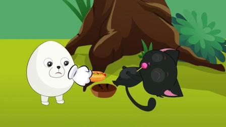 植物大战僵尸:这个僵尸太讨厌了,他把黑猫的热狗抢走了