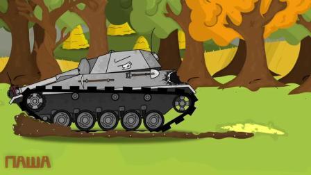 坦克世界动画:苏系的装甲力量