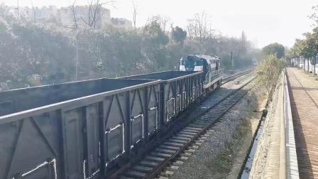 【火车视频集锦】芜铜线终点看车