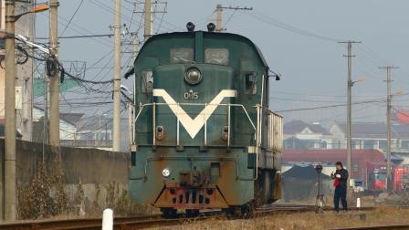 【余慈铁路】GK1B-0057单机折返